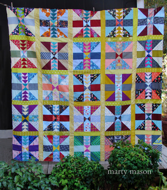 Foothills Quilt  by marty mason....a mary elizabeth kinch quilt design