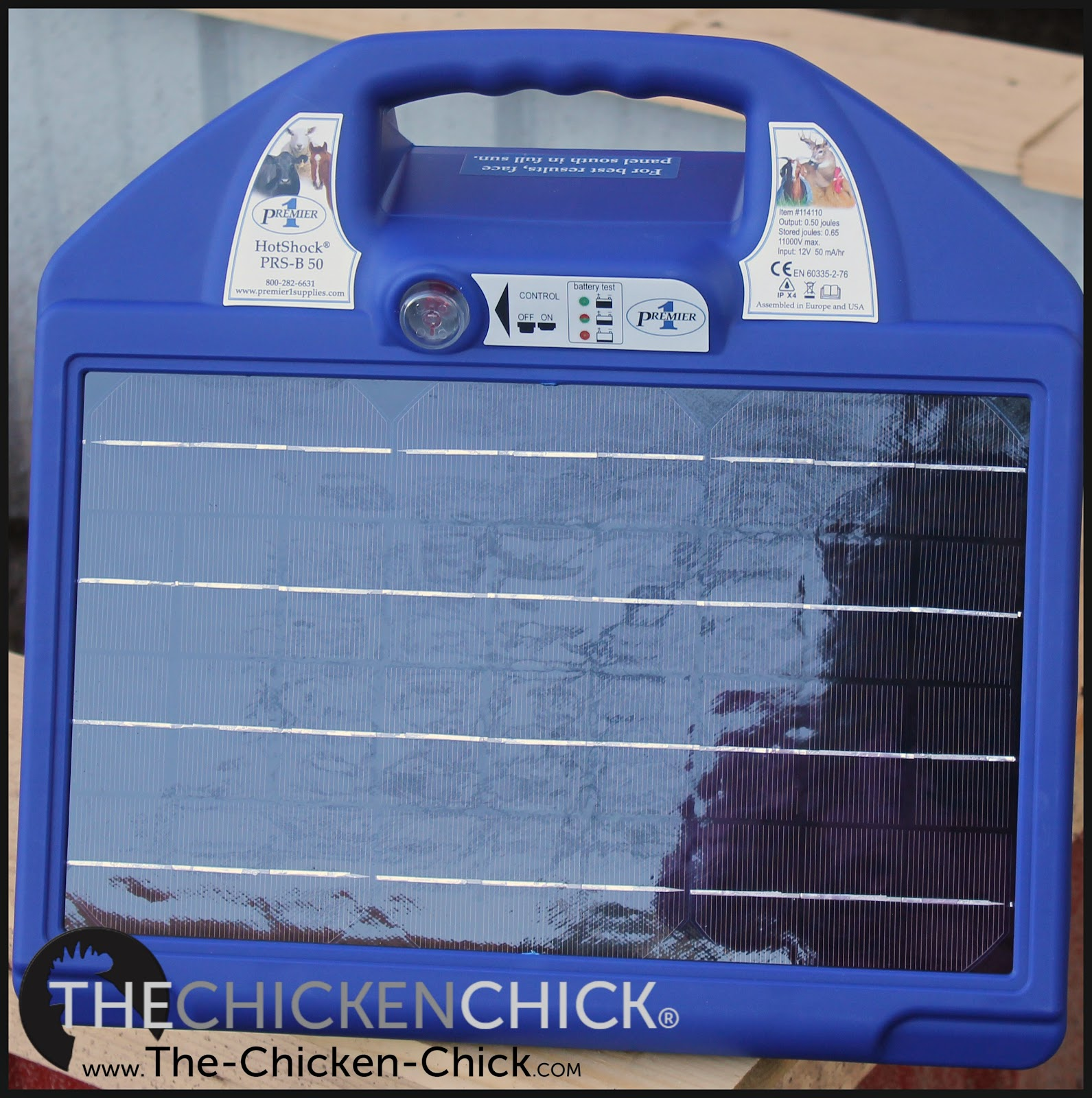 The Chicken Chick 174 Portable Electric Poultry Netting