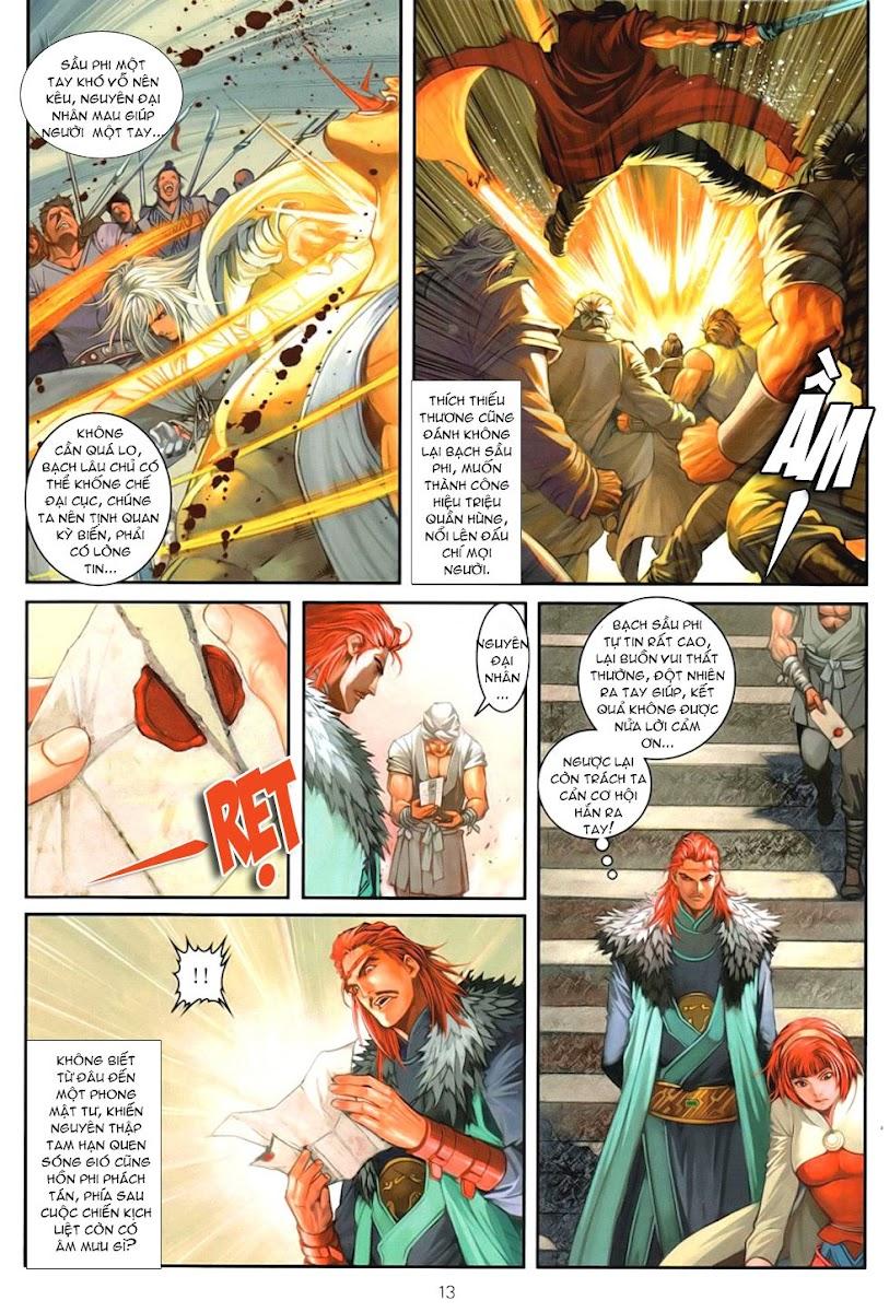 Ôn Thuỵ An Quần Hiệp Truyện chap 92 - Trang 13