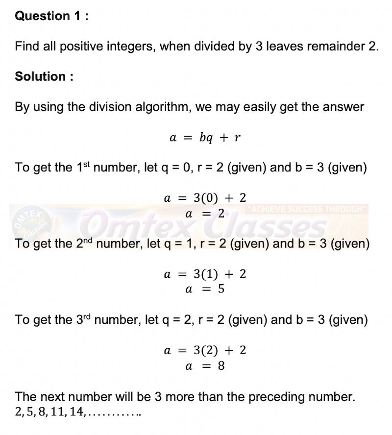 Find all positive integers, when divided by 3 leaves remainder 2.
