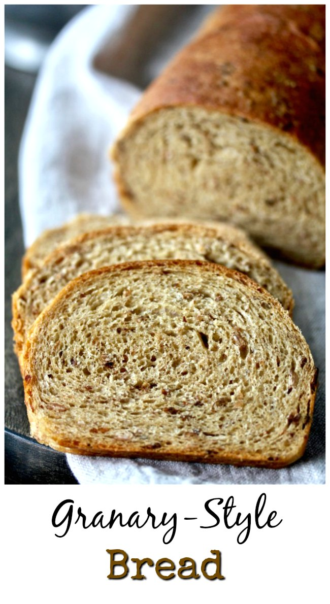 English Granary-Style Bread