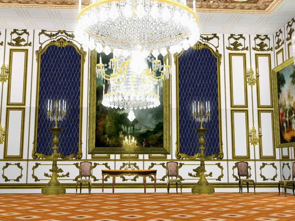 My Sims 3 Blog Royal Versailles Wall Panels Set By The
