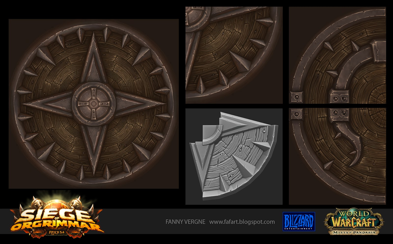 Texturing - Siege Of Orgrimmar - WOW — polycount