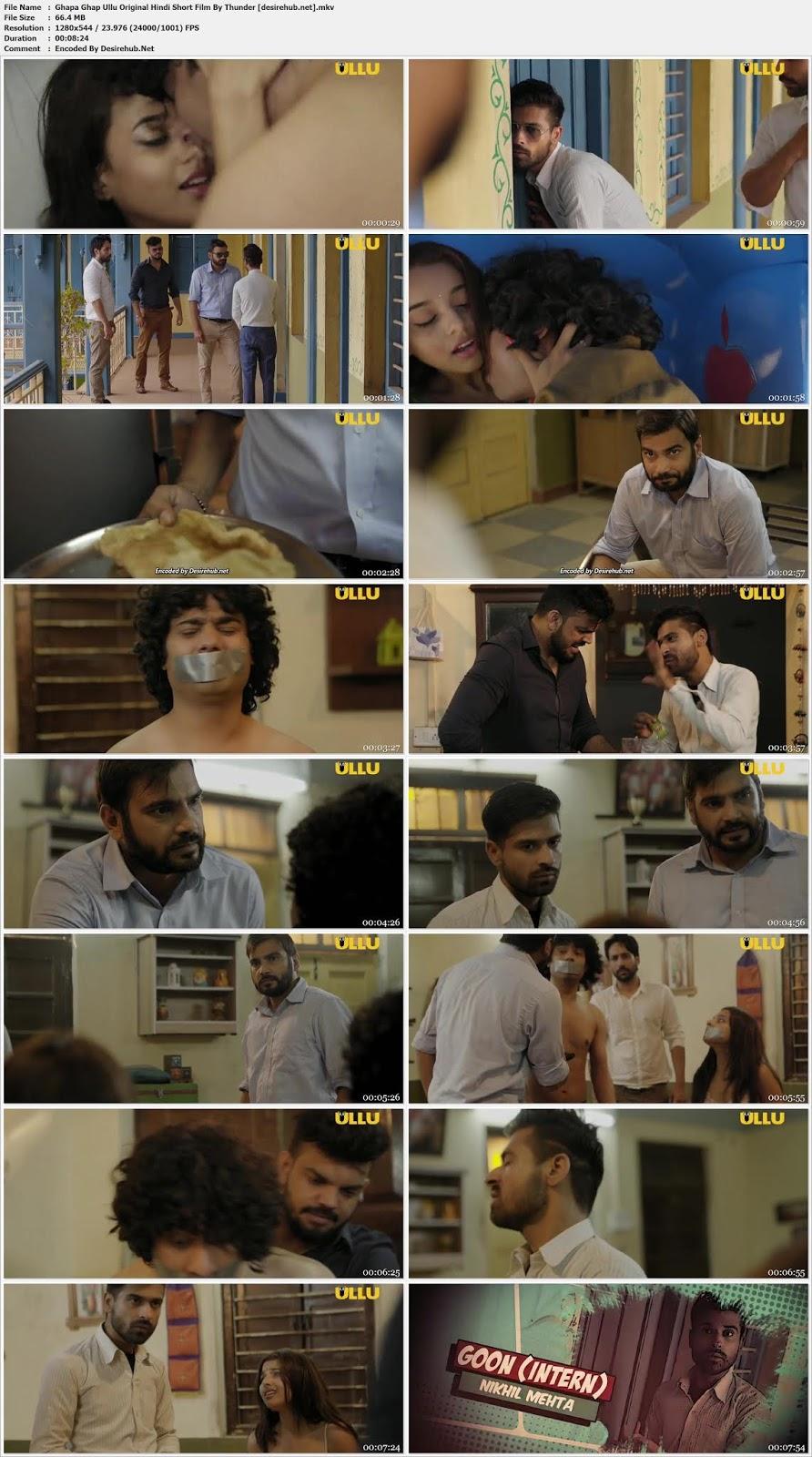 18+] Ghapaghap Ullu Originals Hindi Short Film 720p - 70MB | DesireHub
