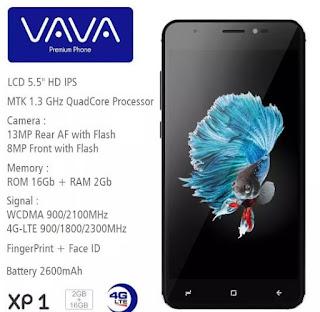 VAVA XP1 Android 4G Super Canggih Harga Murah | Mizan Ponsel