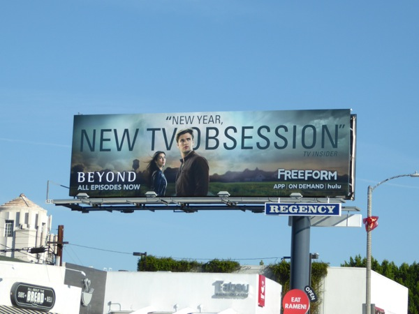Beyond New TV Obsession season 1 billboard
