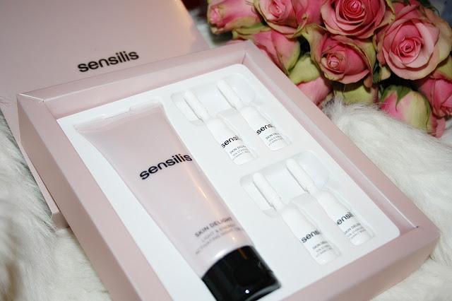 Sensilis Skin Delight - Kuracja na noc z witaminą C