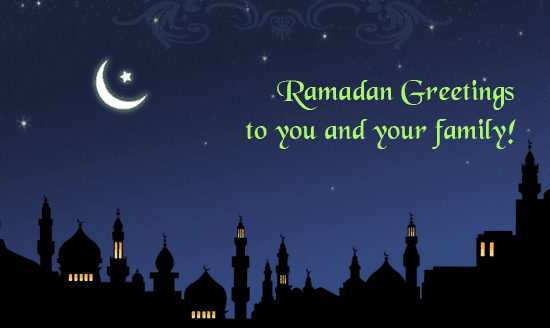 Best Ramadan Greetings in English 2018