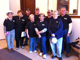 Volunteers offer help in Henryville, IN