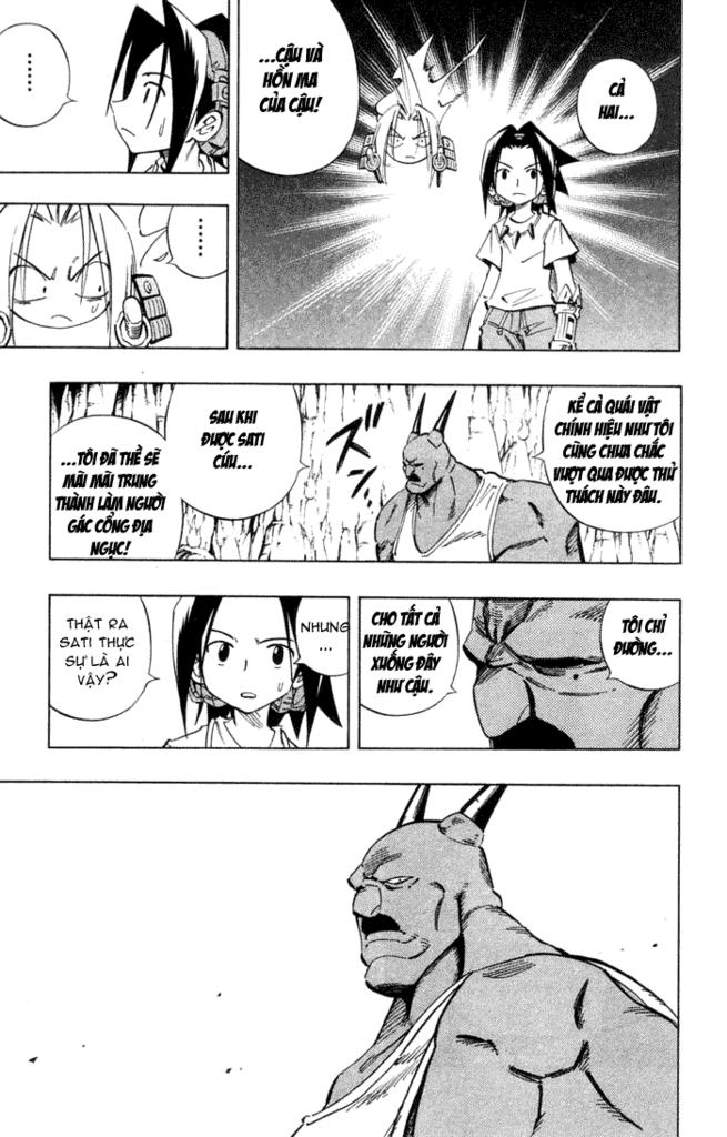 Shaman King [Vua pháp thuật] chap 234 trang 11