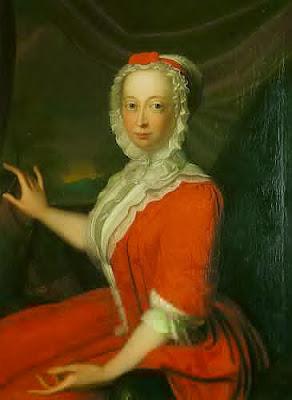 Anne, Princess Royal and Princess of Orange by Bernard Accama, 1736