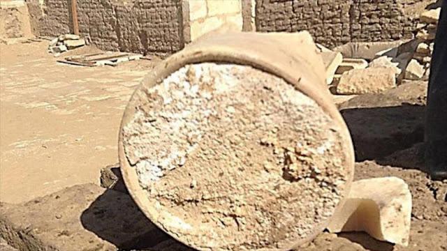 Queso de 3200 años de antigüedad, hallado en Egipto