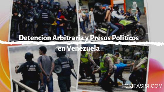 (Imagen) Cualquier detencion arbitraria se da tanto a los manifestantes como a los testigos o presentes en las zonas de protestas en Venezuela