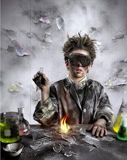 arte digital pequeño cientifico