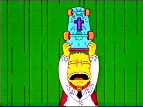 Bart como un mesías. Hijo de Dios
