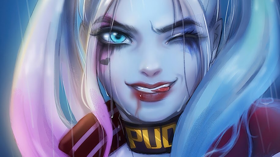 Harley Quinn, Wink, DC, 4K, #4.2292
