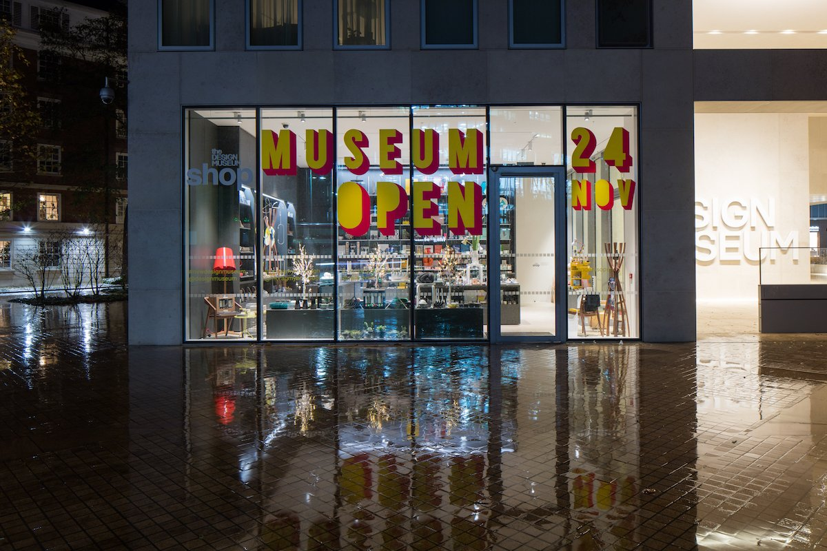 The new £85 million museum is located on Kensington High Street, next to the southern entrance to Holland Park.