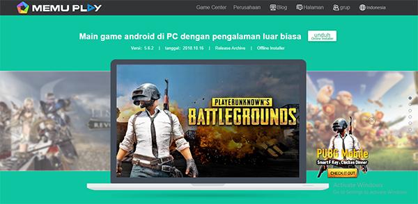 Memu Emulator Terbaik Untuk Bermain PUBG Mobile di PC