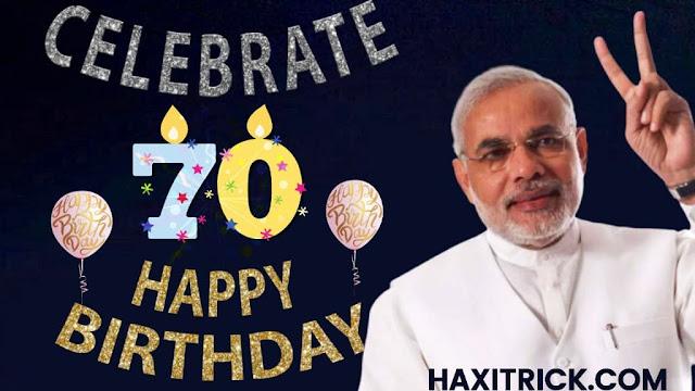 70th Birthday of Pradhan Mantri Modi Ji 2020