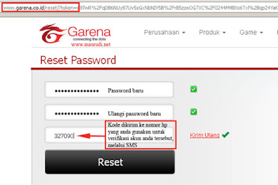 Lupa Password Point Blank Garena