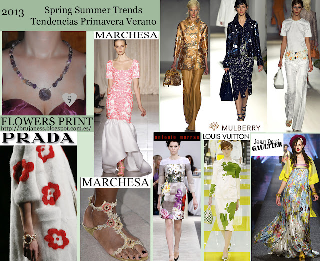 Trends Spring-Summer 2013: Mix of Floral Prints