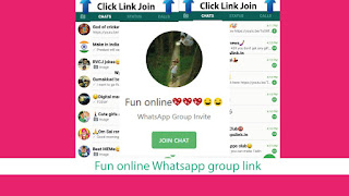 Fun online Whatsapp group link