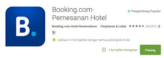 aplikasi booking hotel