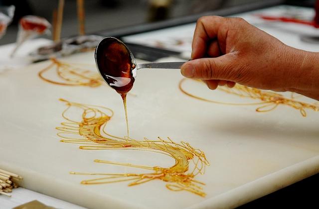 Sugar painting