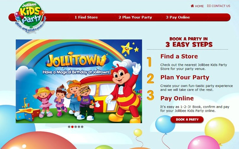 Jollibee invitation template perfect letter moms kid party link jollibee online reservation credit to httpsmomspartylinkspot201210jollibee online party reservationml stopboris