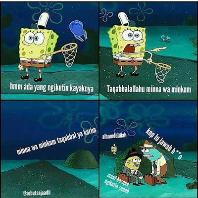 Meme Spongebob Ada Yang Ngikutin