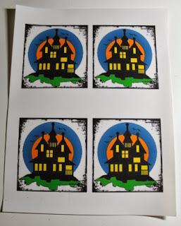 Halloween Coasters with Craft Attitude 4