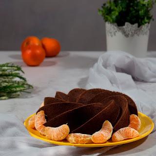 Bizcocho de Chocolate y Mandarina receta Thermomix