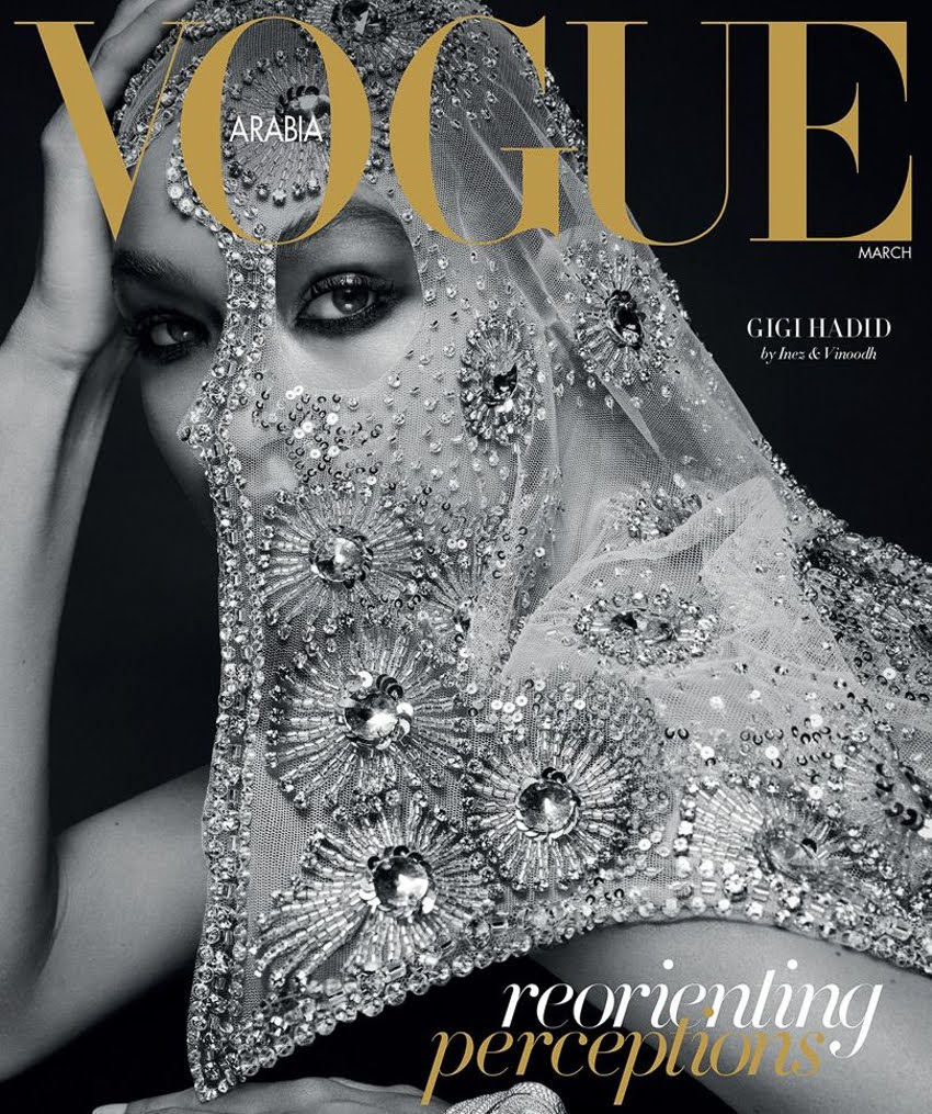 GiGi On Vogue Arabia