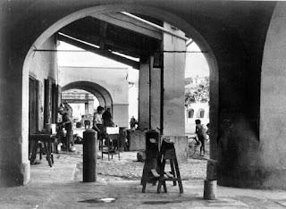 Immagine - Bianco e Nero - Ramai - Piazza Mercatale - Prato