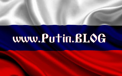 Vladimir Putin BLOG - Russian Flag.