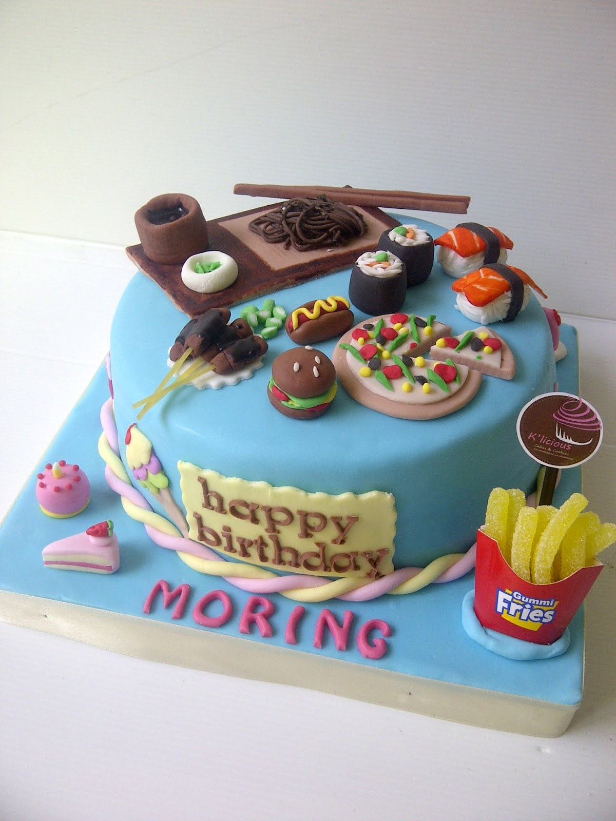 K Licious Cakes Food Lover Cake