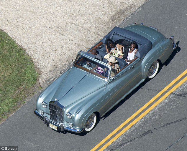 Troy Tashaz Blog: Beyonce Drives Jayz and daughter in her ...
