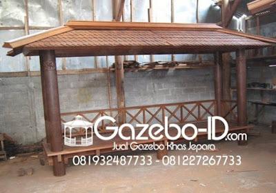 Gazebo Glugu Jepara Segi Panjang