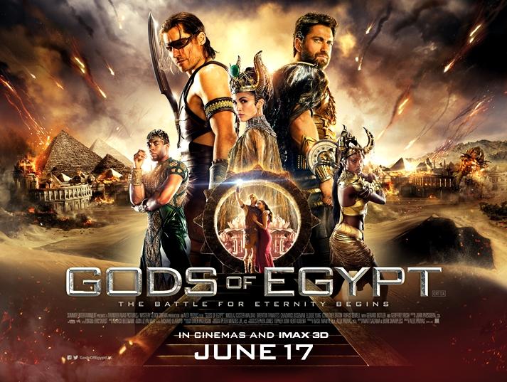 Póster: Dioses de Egipto