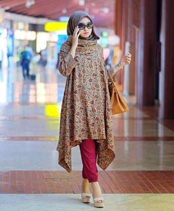 15+ Koleksi Batik Casual Hijab Untuk Remaja & Wanita Muda