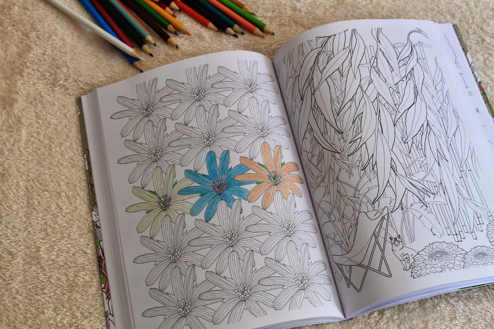 Estante da Nine: Jardim encantado: livro de colorir antiestresse de  #693D2D 1600x1066