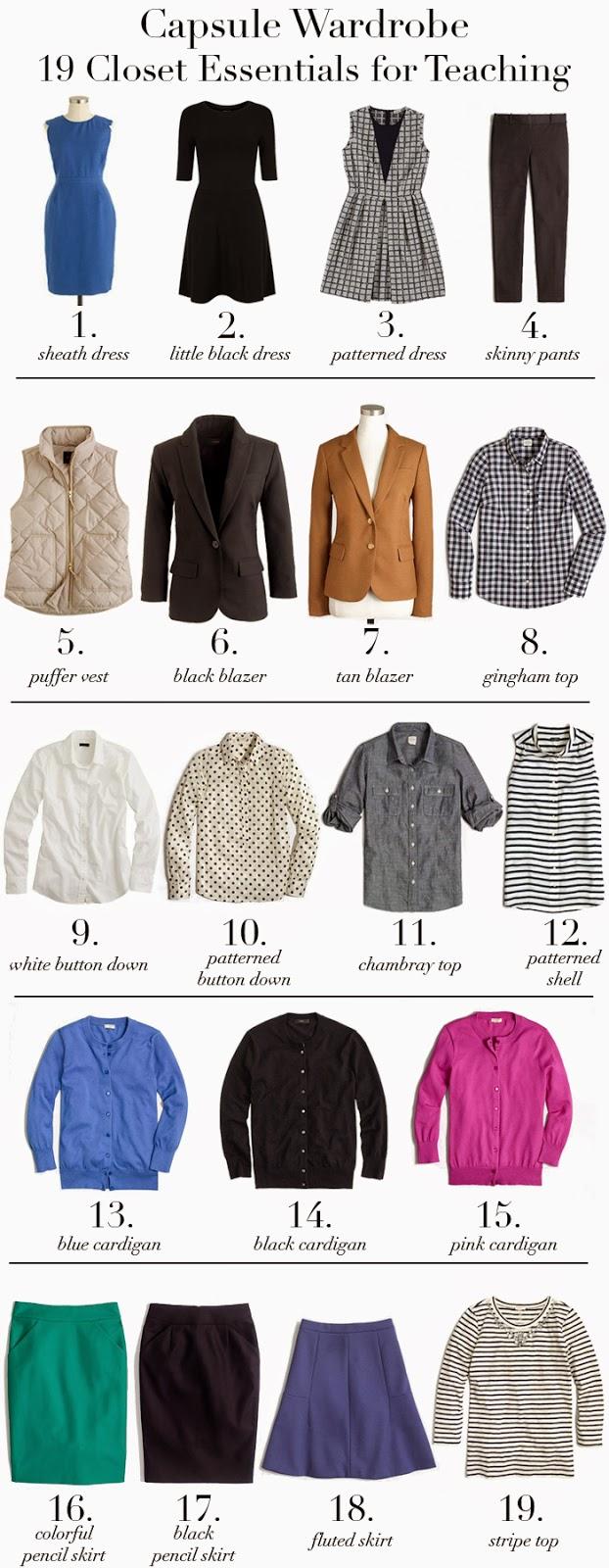 A Denver Style Blog: Teacher Capsule Wardrobe