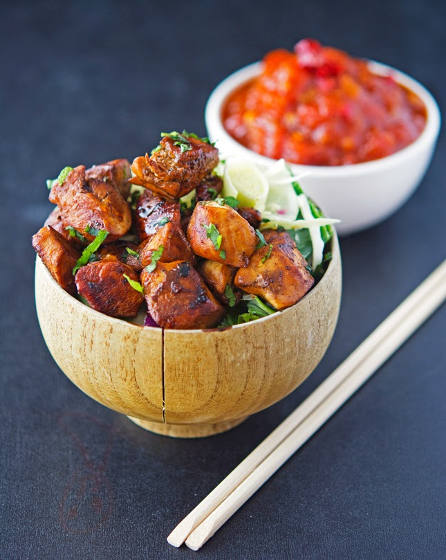 Sichuan Pepper Chicken with Tomato Chili Jam