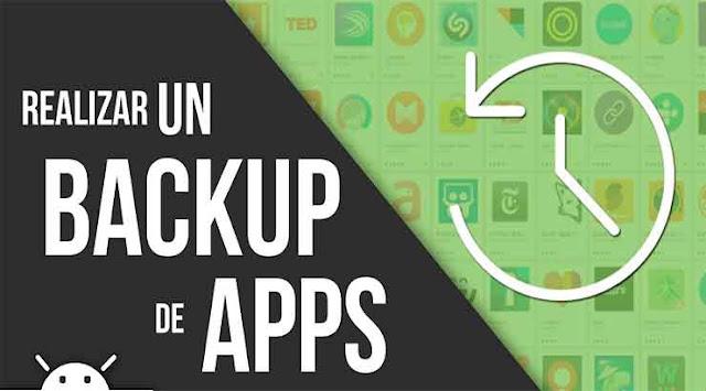 Cómo realizar copias de seguridad de tus aplicaciones con con Easy Apps Backup
