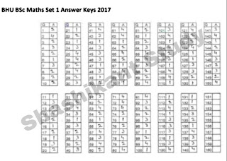 bhu-b.sc-math-answer-key-2017