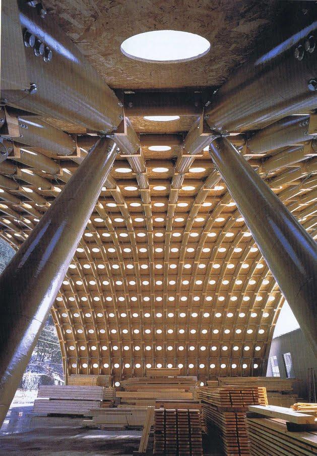 James Pedersen Paper Dome By Shigeru Ban