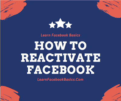 How to Reactivate a Deactivated Facebook account