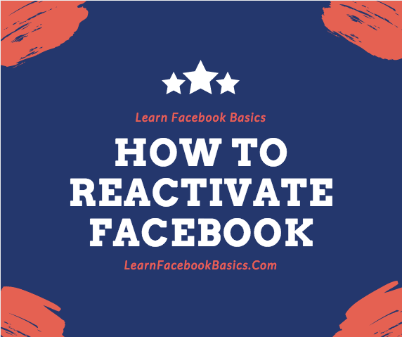 How do i reactivate facebook account facebook online support how to reactivate facebook account ccuart Gallery