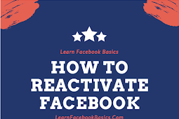 How do I Reactivate Facebook Account