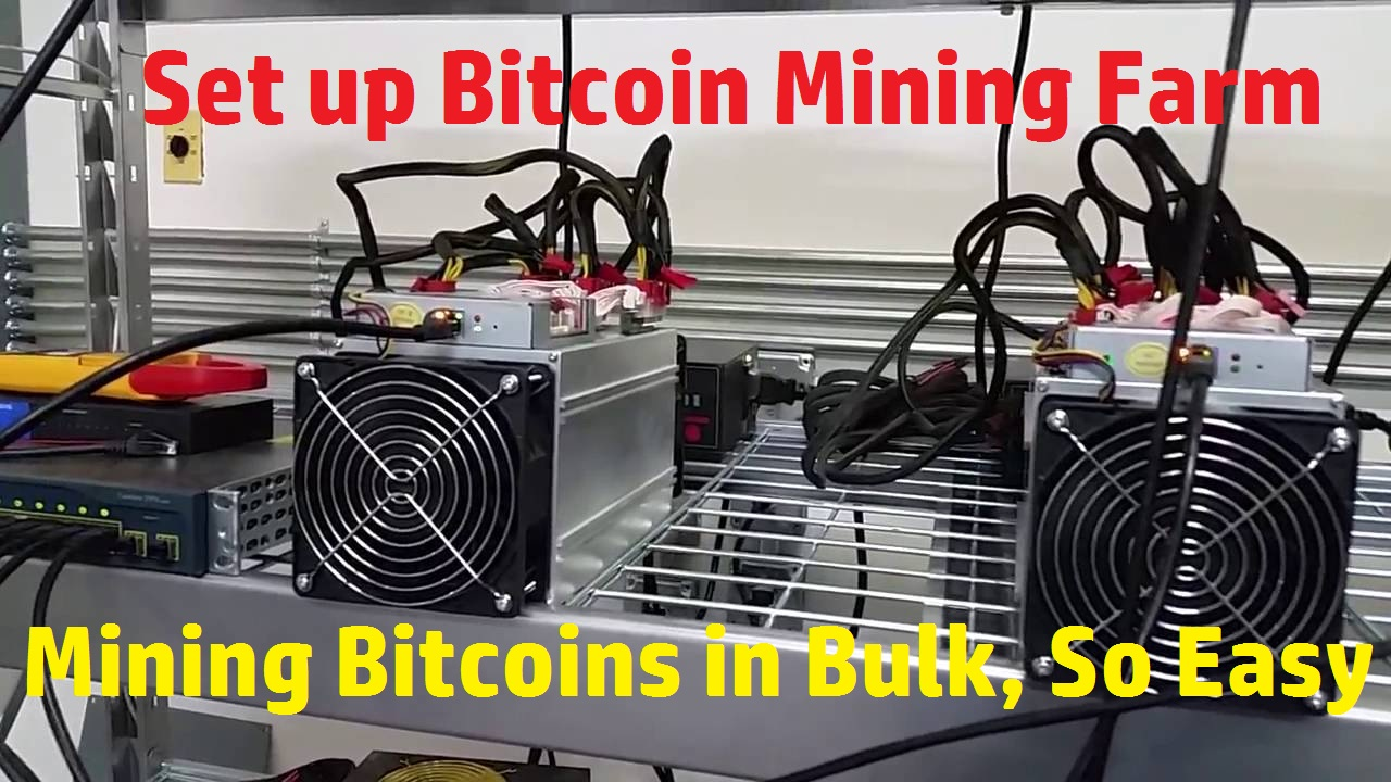 Most Productive, Most Efficient Bitcoin Mining Machine